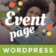 VegaDays - Vegetarian Food Festival or Event WordPress Theme