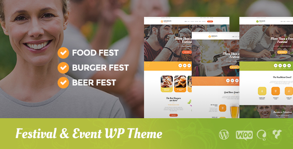 VegaDays – Vegetarian Food Festival or Event WordPress Theme