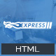 Express Logistics - Transport &Logistics HTML Template Nulled