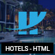 Hotely - Hotel Booking & Travel HTML Template Nulled