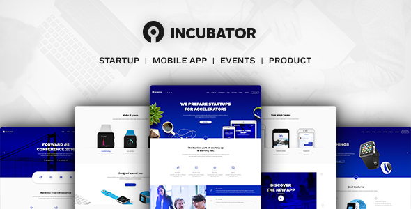 Incubator – WordPress Startup Business Theme