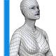 Base mesh Female - 3DOcean Item for Sale