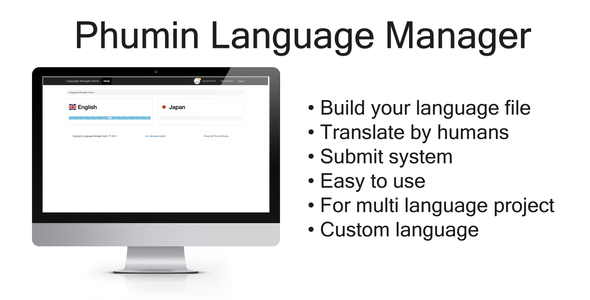 Phumin Language Manager - PHP Script - CodeCanyon Item for Sale