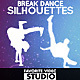 Break Dance Silhouettes - VideoHive Item for Sale