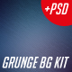 Digital Storm Grunge Background Kit - GraphicRiver Item for Sale