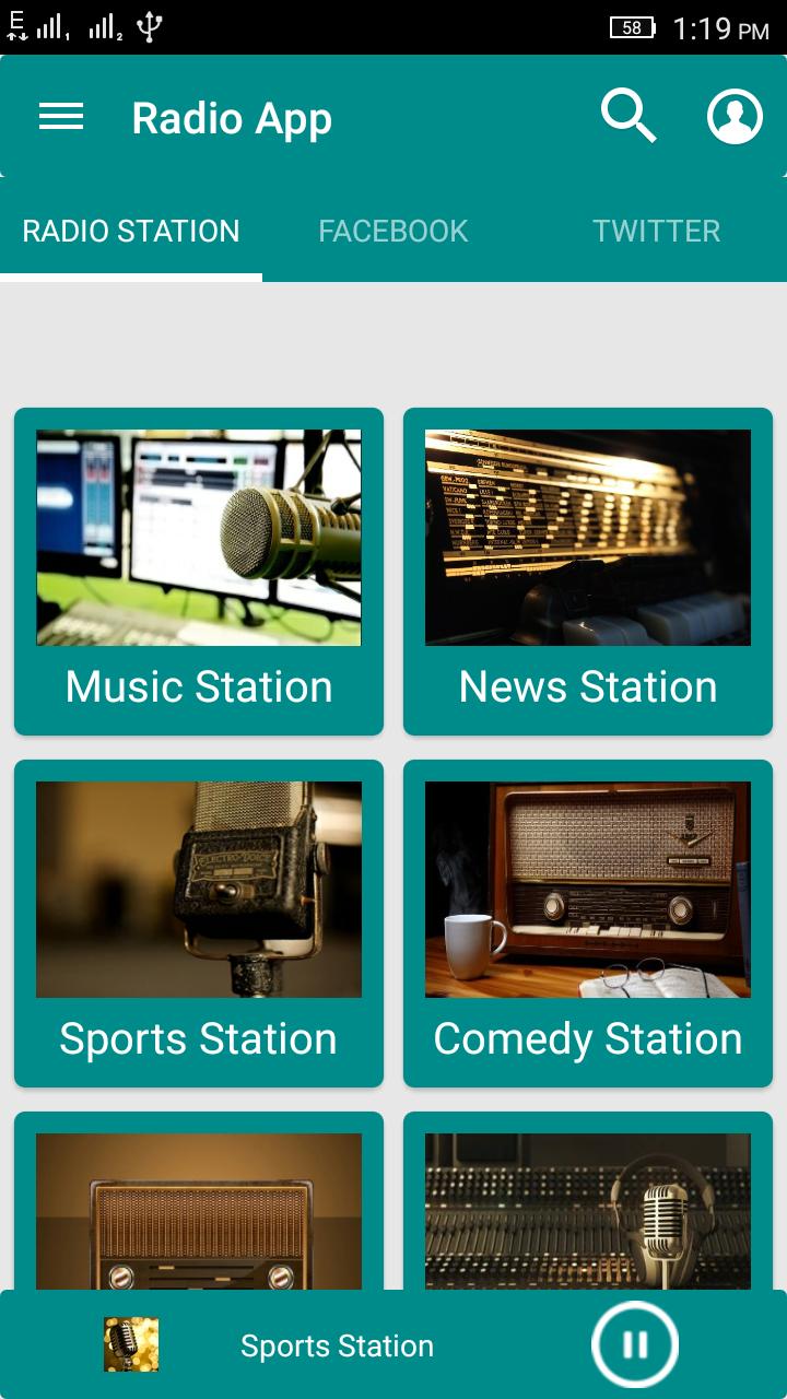 Image Result For Codecanyon App Radio