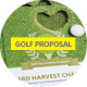 Clean Golf Tournament Proposal - GraphicRiver Item for Sale