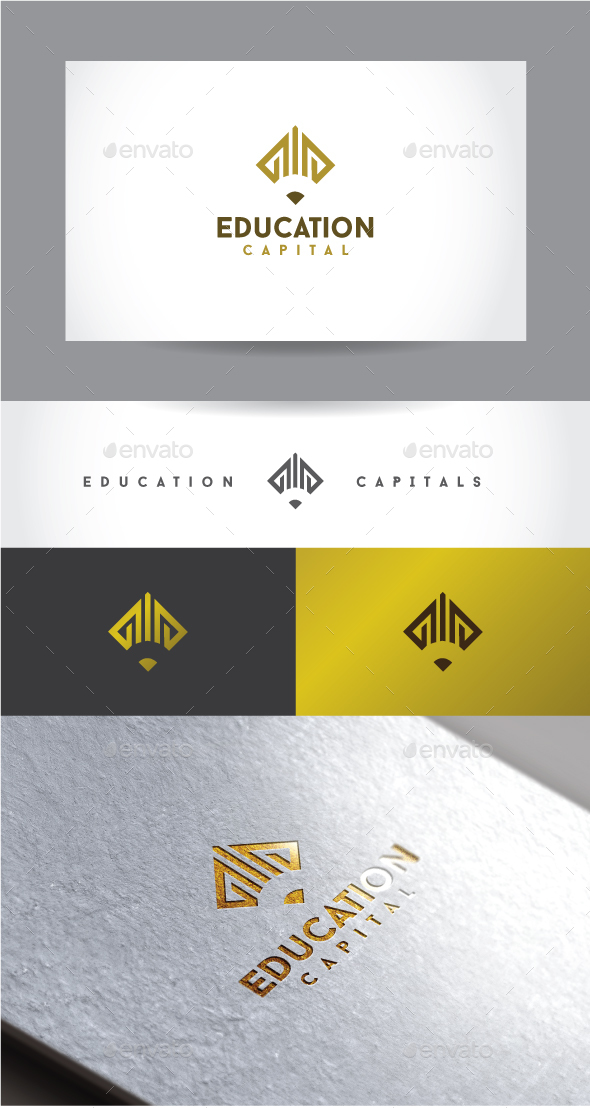 Education Capital - Symbols Logo Templates