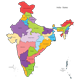 India States Map and Outline - GraphicRiver Item for Sale
