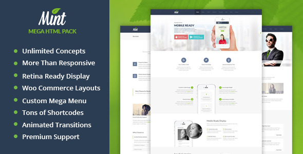 Mint | Multi-Purpose HTML Template