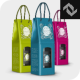 Rope Handle Wine Paper Bag Mockup - GraphicRiver Item for Sale