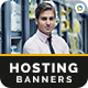 Hosting Banners - GraphicRiver Item for Sale