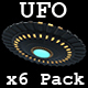 UFO x6 Pack - VideoHive Item for Sale