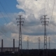 Electrical Pylons With Clouds. - VideoHive Item for Sale