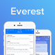 Everest - iOS Mail App UI - GraphicRiver Item for Sale