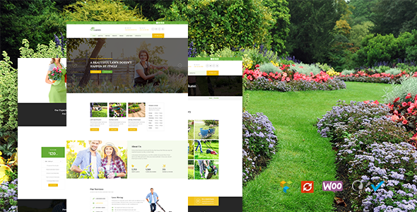 Garden - Lawn & Landscaping Theme - Business Corporate