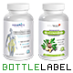 Label Design Template Bottle Nutrition Supplement - GraphicRiver Item for Sale