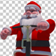 Santa On A Segway - VideoHive Item for Sale