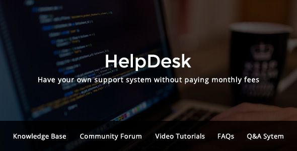 HelpDesk – WordPress Support Center Theme