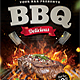 Steak BBQ Flyer Template - GraphicRiver Item for Sale