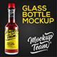 Glass Bottle Mock-up - GraphicRiver Item for Sale