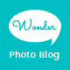 Photo Blog WordPress Theme - Wonder