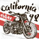 Motorcycle California t-shirt Nulled