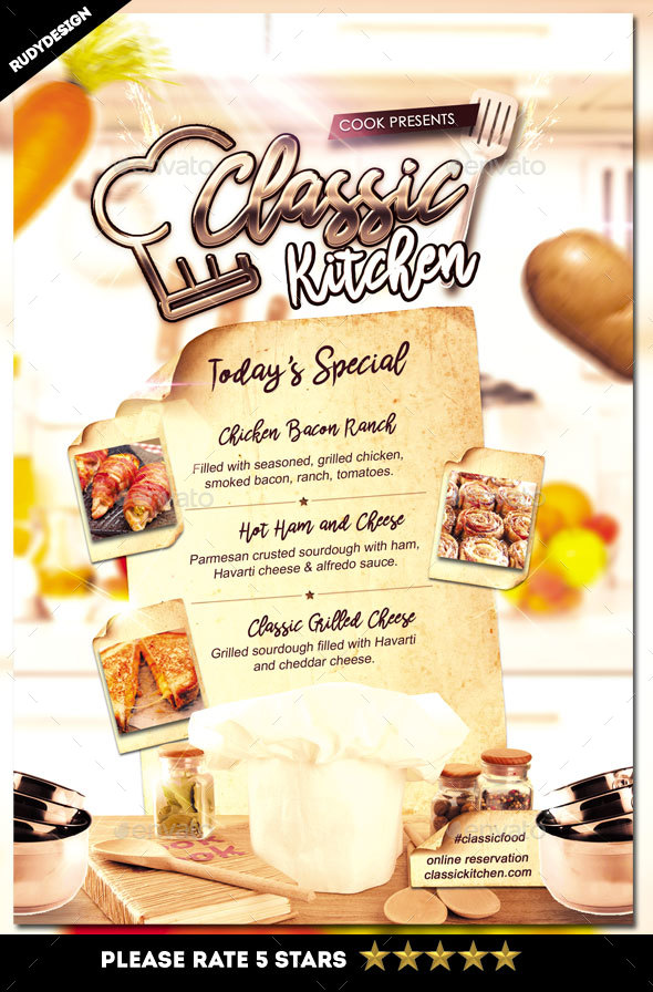 Menu Flyers  BesikEightyCo