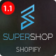 Super Shop - Responsive Shopify Theme - ThemeForest Item for Sale