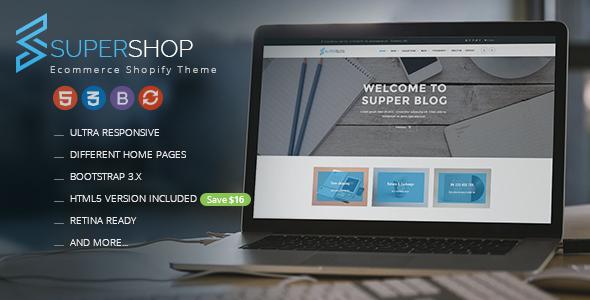 Super Shop - Responsive Shopify Theme - Shopping Shopify