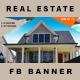 6 Facebook Banners Posts | Real Estate vol I