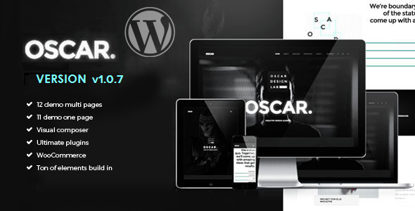Oscar - Creative Multiuse WordPress Theme - Creative WordPress