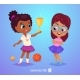 Girls with Prize - GraphicRiver Item for Sale
