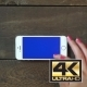 Zoom In Hand Smartphone With Blue Screen - VideoHive Item for Sale