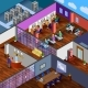 Development Office Isometric Design Concept - GraphicRiver Item for Sale