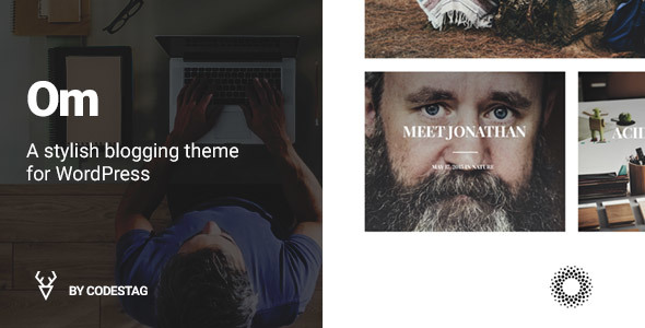 OM - A stylish blogging theme for WordPress
