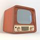 Vintage TV - 3DOcean Item for Sale
