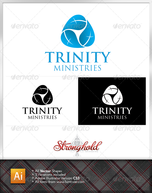 Church Ministry Logo Template - Symbols Logo Templates