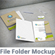 File Folder Mockup - GraphicRiver Item for Sale
