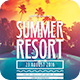 Summer Resort Flyer - GraphicRiver Item for Sale
