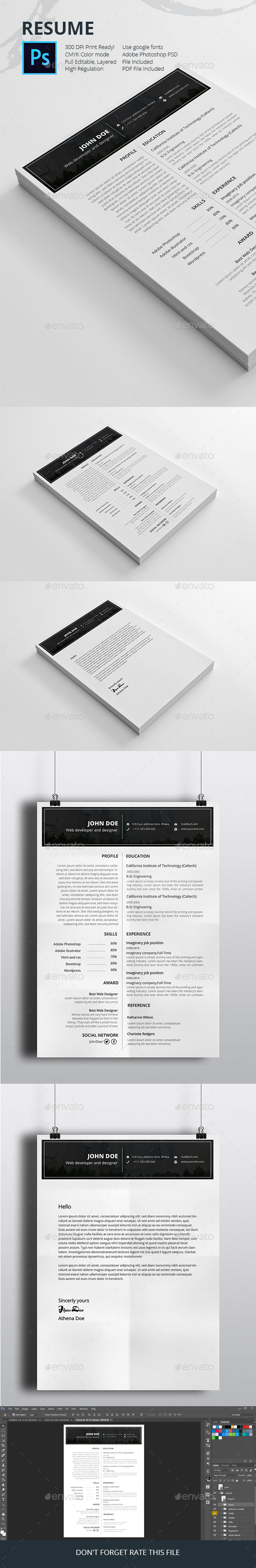 Job resume templates  - Resumes Stationery