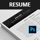 Job resume templates  - GraphicRiver Item for Sale