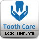 Tooth Care Logo Template - GraphicRiver Item for Sale