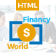 Financy World | Finance HTML Template  - ThemeForest Item for Sale
