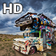 Truck and Limo - The International Car Forest of the Last Church Day  - VideoHive Item for Sale