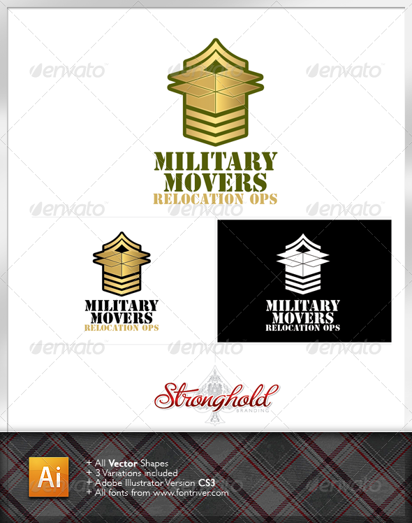 Military Movers Logo Template - Symbols Logo Templates