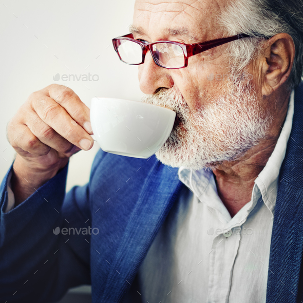 Coffee Cafe Bar Leisure Drinking Relaxation Concept - Stock Photo - Images