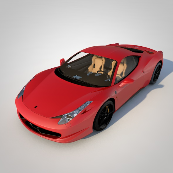 Ferrari 458 Italia - 3DOcean Item for Sale