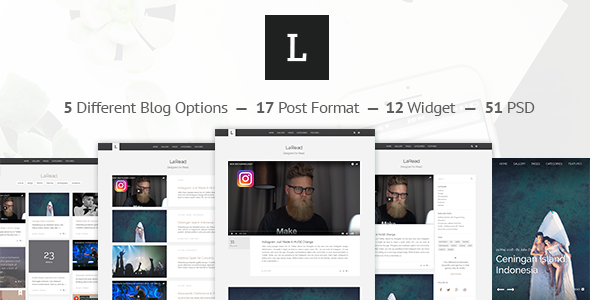 LaRead — WordPress Blog Theme - Personal Blog / Magazine