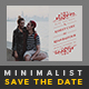 Minimalist Save The Date Postcard | Volume 3 - GraphicRiver Item for Sale